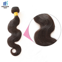 400g Darkest Brown Color 2 Remy Extensiones de Cabello Silky Straight Cuerpo Onda Profundamente Rizado Calidad Colorido Brasileño Hair Weave Bundles