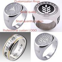 animal memorial gifts - Custom Graduation ring memorial ring champion ring customized small quantity provide picture customization logo free DHL
