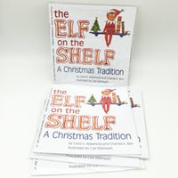 Wholesale 21 cm Hard Cover Books Christmas Elf Soft Books for Kids Go To School And Christmas Gift