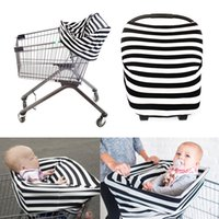 baby car seat canopy - 5pcs Universal Fit Multi use Baby Infant Car Seat Covers Canopy Stretchy Coverage Grocery Cart Cover