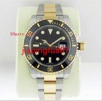 Proveedor de la fábrica NUEVO Reloj de lujo del cristal de zafiro de la alta calidad 18K Rose El oro inoxidable azul de cerámica del bisel 116613 116613LB Asia 2813
