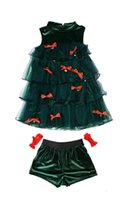 Wholesale Japan Lotte new Christmas clothing cosplay performance green Christmas tree role playing
