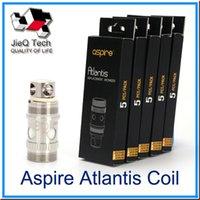 Precio de Atlantis v2 bobinas-Aspire Atlantis Coil 2 Bobina de repuesto 0.3 / 0.5 / 1.0ohm Bobina Sub Ohm Para Atlantis V2 Atlantis Mege atomizers-01