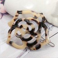 acid leopards - Acetic acid rose leopard FS00442 hairpin edge clamp