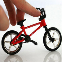 Cheap Wholesale-Funny Miniature Finger Bicycle Bike Mini Toy Alloy Multicolor Kids Gift Outdoor Sports Bicycle Game Gift for Children toys