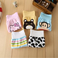 baby abdomen - Children s underwear Cotton baby care his pants Baby pants a child of tall waist abdomen trousers