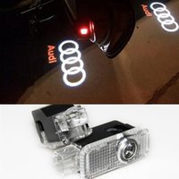 audi tt door - 2 Laser LED Door Courtesy projector Shadow Light For AUDI A1 A3 A4 B6 B8 A6 C5 A7 Q3 Q5 Q7 TT Sline C6 B5 B7