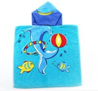 Home baby blanket fabrics - colors Microfiber Bath Towel Children s Animal Cloak Blanket Household Towel babies shawls of cm