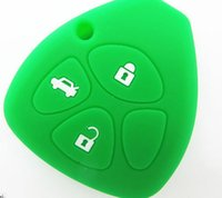 Wholesale Toyota botton Key bag Cover Remote Silicone Shell For Toyota key Shell