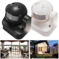 Wholesale High Quality Outdoor Indoor Durable M Degree Security Auto PIR Motion Sensor Detector Switch Light Home Garden Light Lamp Wall Switch