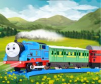 al por mayor trenes thomas-2017 Train Train Train Train Set juguetes clásicos de juguete de los niños / paquete de regalo para los niños / coche eléctrico Electric Set juguetes educativos VS thomas pierna