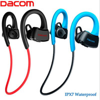 For Nextel Waterproof Wireless Dacom P10 Bluetooth Headset IPX7 Waterproof Wireless Sport Running Headphone Stereo Music Earphone Headsfree W mic For Swimming
