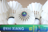 Wholesale MX Tube only badminton Shuttlecock birdie free shipment