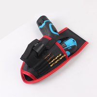 Wholesale ping Electric screwdriver bag electric tool kit Drill bag Cordless drill bag only one bag no include electric drill
