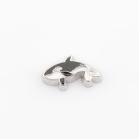 Wholesale Whale Floating locket charms Fit floating charm lockets FC0298