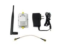al por mayor wifi 2w-2W 802.11b / g 2.4GHz Amplificador de señal de Wifi Los amplificadores de banda ancha amplían el alcance de cobertura de señal