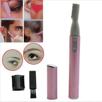 Wholesale Women Ladies Body Shaver Razor Epilator Makeup Accessories Mini Portable Electric Face Eyebrow Trimmer Hair Remover
