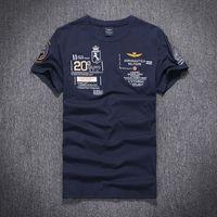 aeronautica militare polo shirt - Hot Sale Fashion Casual men s shirt AERONAUTICA MILITARE Short sleeve T shirt embroidery polo t shirts