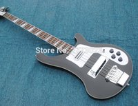 Wholesale quality model Ricken strings Electric Bass guitar Black color All Color are available