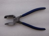 bend nose pliers - 8 Nipper for Mending Glass Plier for Glass With Teeth Bend Nose Free Ship