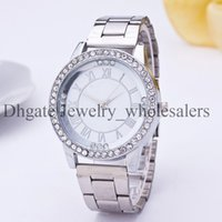 Wholesale New York Fashion Brand Watches diamond crystal quartz wristwatch top luxury Famous watch for women men ladies mens Silver Rose Gold MW05