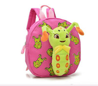 backpacks for preschool boys - Cute Cartoon Baby Plush Backpack Children Detachable Tangbao Handmade Preschool Bag Kindergarten Schoolbag Zoo Backpack For Boys Girls Gifts
