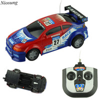 best rc cars for kids - Niosung High Speed mini RC Toy Car Wheel Drive Remote Control Car speed drift Best Gift for Kids