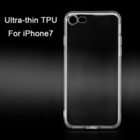 Wholesale Ultra Thin Transparent TPU Case for Apple iPhone7 s Plus Soft Protective Edge Back Cover for iPhone Plus with Dust Plug