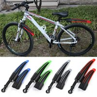Wholesale Hot MTB Bike Fenders Front Rear Bicycle Bike Mudguard Mountain Bike Mud Guard Tire Fenders Colors