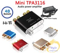 audio output amplifier - Nobsound HiFi output W Audio power amplifier Mini TPA3116 Bluetooth Digital Amplifier Support USB motorcycle mp3 player