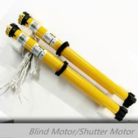 Wholesale 433mhz roller shutter motor eletric curtain remote windows roller blind motor tube vertical motor
