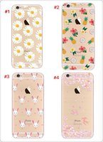 Wholesale 2016 hotsale phone shell gift colour painting for iphone s plus Soft TPU Transparent Material frosted Shell