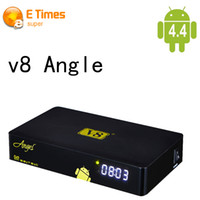 as pic android angels - V8 Angel G G DVB S2 T2 C tuner Amlogic S805 Android TV Box Support Cccamd Newcam Full HD wifi HDMI Satelite Receiver