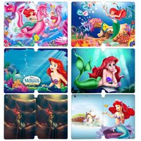 Wholesale Customize Your Own Images The Little Mermaid Flip PU Leather Case Cover for ipad mini Auto Sleep Wake up Stand