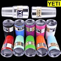 Wholesale Yeti oz oz Cups Cooler YETI Rambler Tumbler Travel Vehicle Beer Mug Double Wall Bilayer Vacuum Insulated OTH242