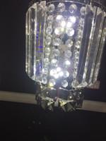 Wholesale Manufacturers selling modern minimalist living lights bedroom lamp crystal bedside lamp wall lamp aisle