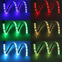 bias lighting - Multi colored RGB cm inch LEDs LED Strip Light Bias Lighting LED Waterproof Lighting Kit Cuttable with USB Cable