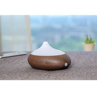 Wholesale CAROLA Aroma Diffuser Human Infrared Humidity Control Room Diffuser ml Oil Diffuser Hours Working Time Essential Oil dark wood