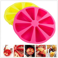 Wholesale Round shape Silicone Muffin Cases Cup Cake Cupcake Liner Baking Mold Cakes Bakeware Maker Kicthen Cooking Gadget Tools