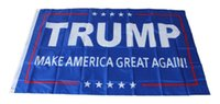 Wholesale 90 cm Trump x5 Foot Flag Make America Great Again Donald for President USA American Presidential Election Flag