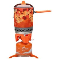 backpacking cook stove - Fire Maple Personal Cooking System Outdoor Backpacking Hiking Camping Oven Portable Best Propane Gas Stove Burner FMS X2