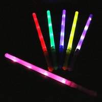 Halloween   Glow rainbow stick, flash big fluorescent bar, colorful stick, flash stick, concert props