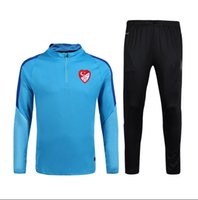 Wholesale Thailand Quality New Real Turkey Long Sleeve Training Clothing Embroidery