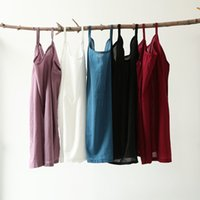 Wholesale 2017 new Women summer linen clothes Loose solid color short vest Harness breathable high quality