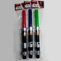 Électronique étoile rouge France-Star Wars Darth Vader Ultimate Extensible Lightsaber Eclairages à LED Eclairage électronique à lentilles enfants Blueredgreen / son