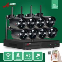 ANRAN P2P HDMI 8CH 1080P WIFI NVR 2MP Outdoor 3 Array IR Caméra IP sans fil imperméable à l'eau CCTV Video Security Surveillance System