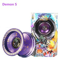 Wholesale Demon S yoyo Professional Butterfly Metal Yoyo diabolo Aluminum High Precision Game Special Props Dead Sleep auldey yoyo