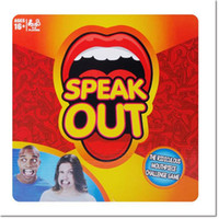 Wholesale best selling novelty toy Board Mouthpiece Party Game interesting tool words card speak tool brand new ktv funny toys DHL