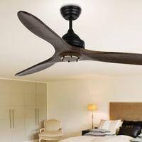 attic fans - 2016 Lamp Fan Modern Nordic Dining Room Ceiling Fan With Remote Control Attic Without Light Home Decoration Ventilador De Teto