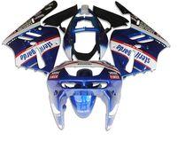 Nouveau kit de carénage de vélo ABS pour KAWASAKI Ninja ZX9R 1994 1995 1996 1997 ZX-9R 9R 94 95 96 97 Carrosserie ajustée belle rouge bleu blanc
